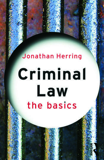 Criminal Law: The Basics book cover