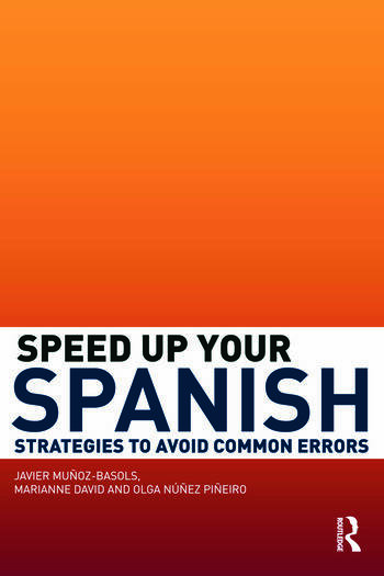 Speed Up Your Spanish Strategies to Avoid Common Errors book cover