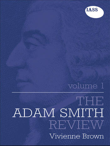 The Adam Smith Review: Volume 1 book cover