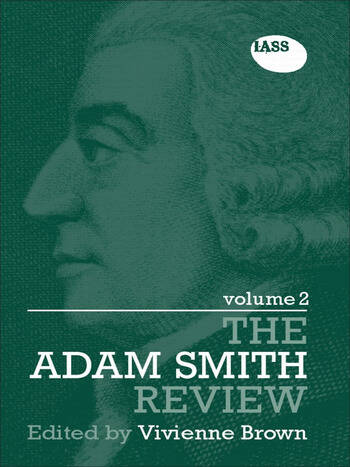 The Adam Smith Review Volume 2 book cover