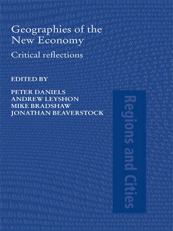 Geographies of the New Economy Critical Reflections book cover
