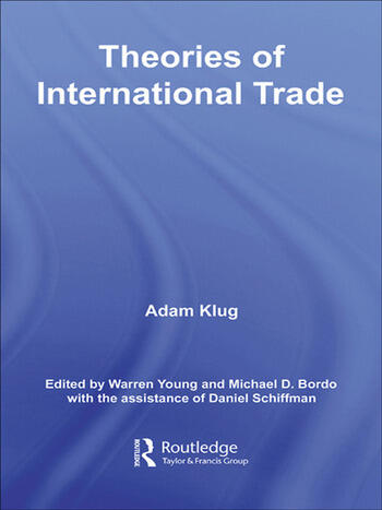 Theories of International Trade book cover