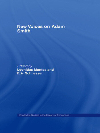 New Voices on Adam Smith book cover