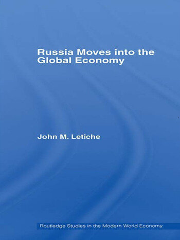 Russia Moves into the Global Economy book cover