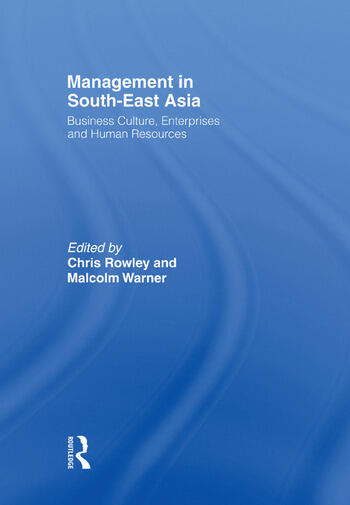 Management in South-East Asia Business Culture, Enterprises and Human Resources book cover