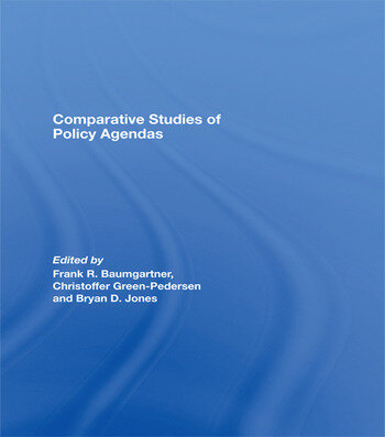 Comparative Studies of Policy Agendas book cover