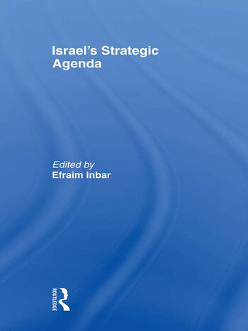 Israel's Strategic Agenda book cover
