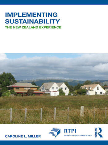 Implementing Sustainability The New Zealand Experience book cover