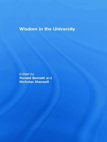 Wisdom in the University book cover
