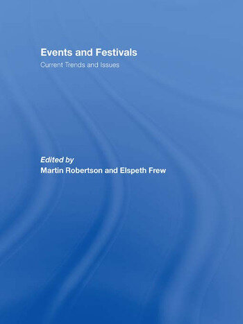 Events and Festivals Current Trends and Issues book cover