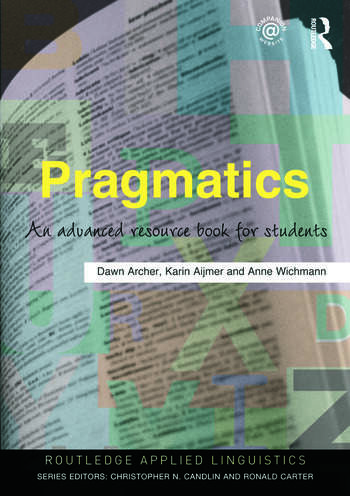 Pragmatics An Advanced Resource Book for Students book cover