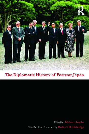 The Diplomatic History of Postwar Japan book cover
