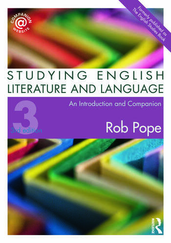 Studying English Literature and Language An Introduction and Companion book cover