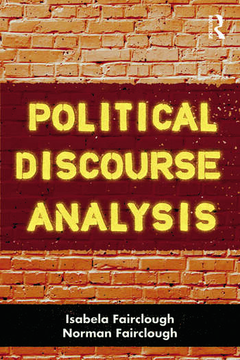 Political Discourse Analysis A Method for Advanced Students book cover