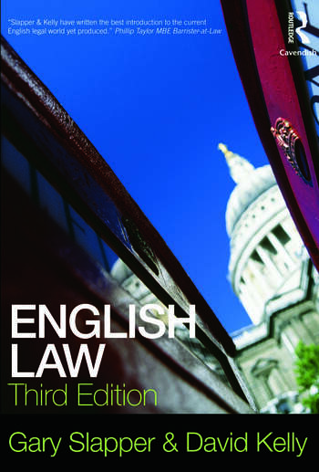 English Law book cover