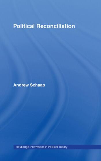 Political Reconciliation book cover