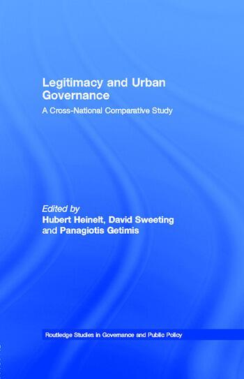 Legitimacy and Urban Governance A Cross-National Comparative Study book cover