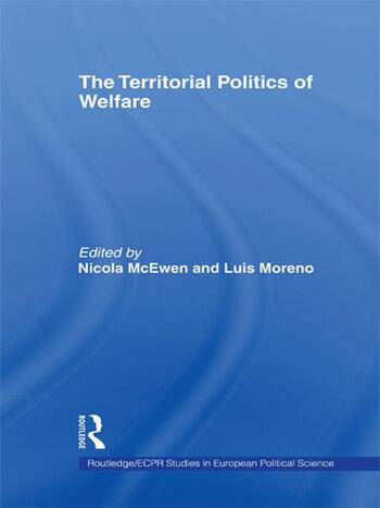 The Territorial Politics of Welfare book cover