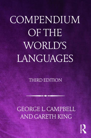Compendium of the World's Languages book cover