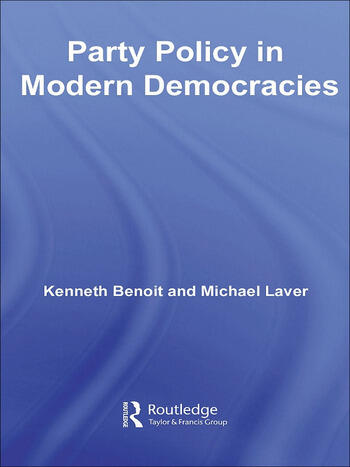 Party Policy in Modern Democracies book cover