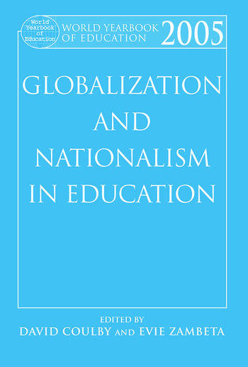 World Yearbook of Education 2005 Globalization and Nationalism in Education book cover