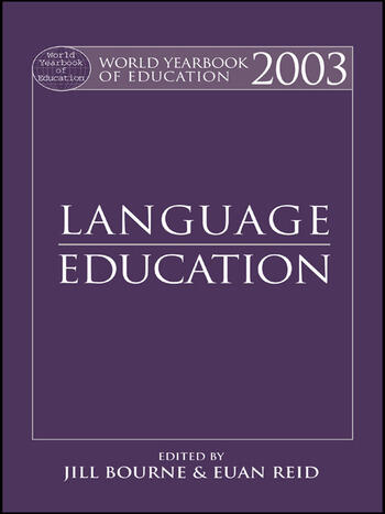 World Yearbook of Education 2003 Language Education book cover