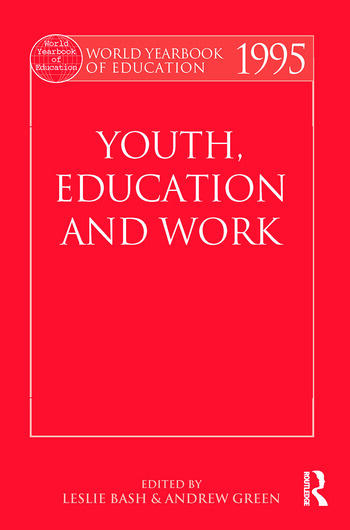 World Yearbook of Education 1995 Youth, Education and Work book cover