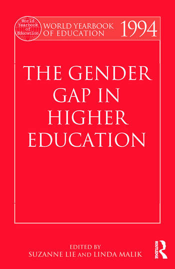 World Yearbook of Education 1994 The Gender Gap in Higher Education book cover
