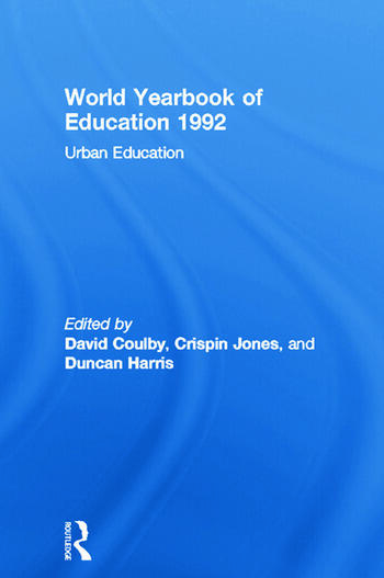 World Yearbook of Education 1992 Urban Education book cover
