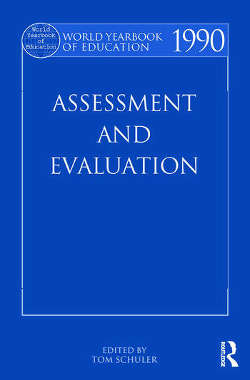 World Yearbook of Education 1990 Assessment and Evaluation book cover