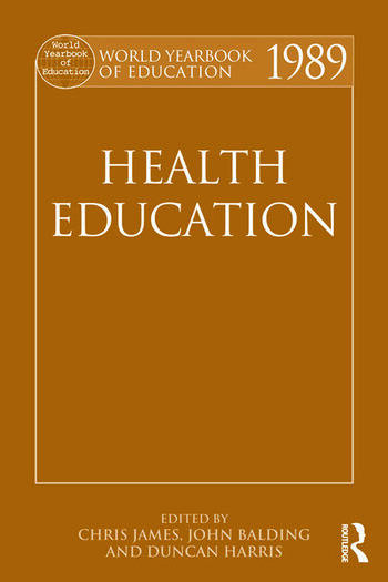 World Yearbook of Education 1989 Health Education book cover