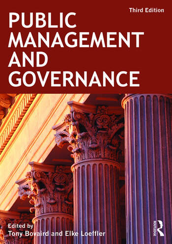 Public Management and Governance book cover