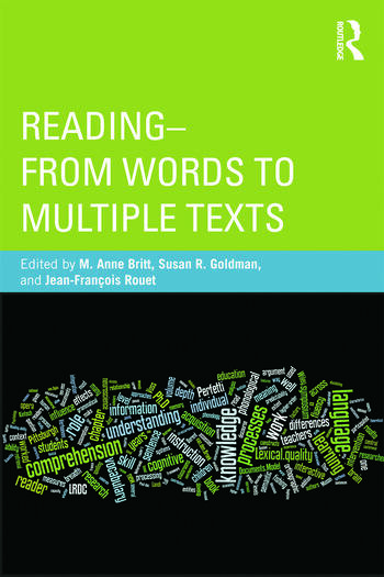 Reading - From Words to Multiple Texts book cover
