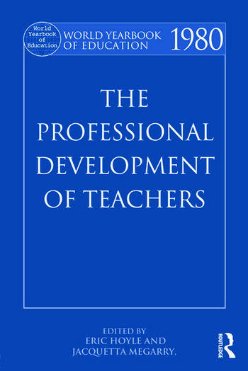 World Yearbook of Education 1980 The Professional Development of Teachers book cover