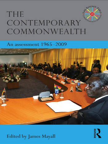 The Contemporary Commonwealth An Assessment 1965-2009 book cover