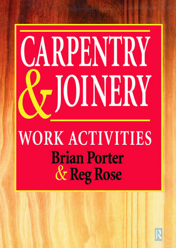 Carpentry and Joinery Work Activities book cover