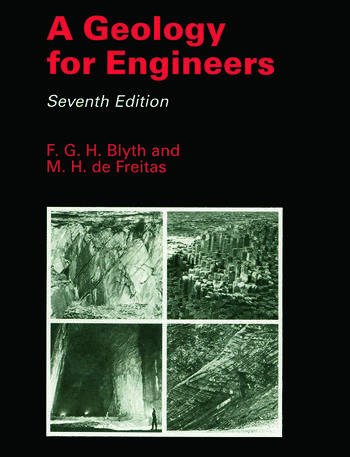 A Geology for Engineers book cover