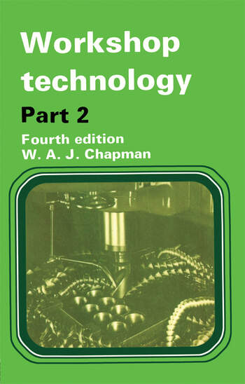 Workshop Technology Part 2, 4th ed book cover