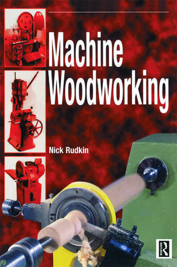 Machine Woodworking book cover