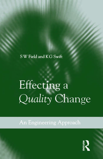 Effecting a Quality Change book cover