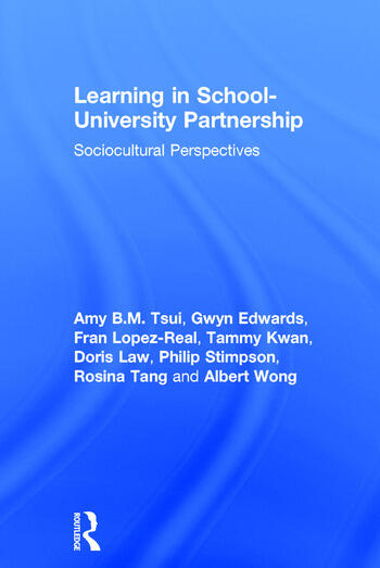 Learning in School-University Partnership Sociocultural Perspectives book cover
