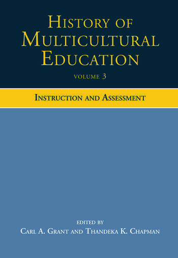 History of Multicultural Education Instruction and Assessment book cover