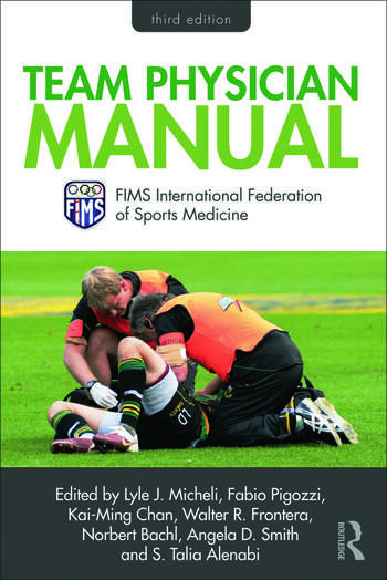 Team Physician Manual International Federation of Sports Medicine (FIMS) book cover