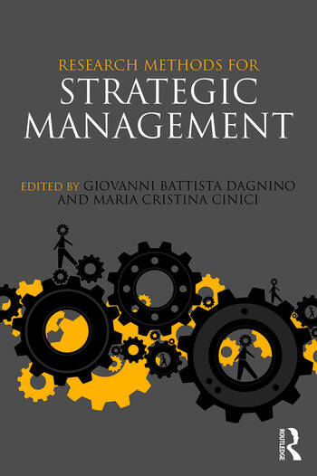 Research Methods for Strategic Management book cover