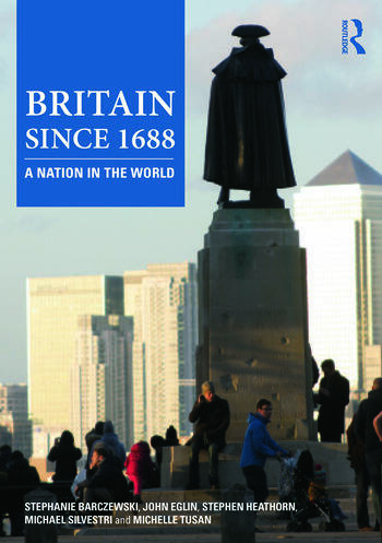 Britain since 1688 A Nation in the World book cover