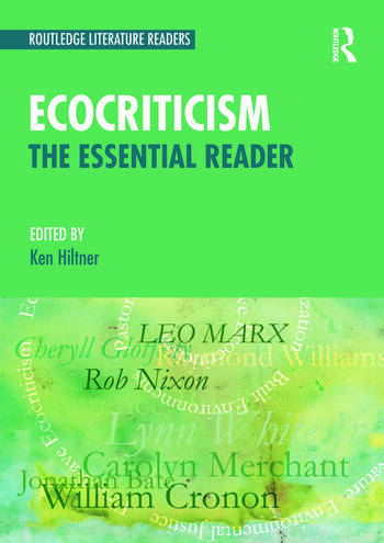 Ecocriticism The Essential Reader book cover