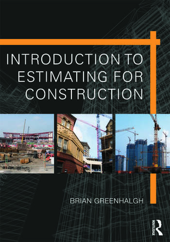 Introduction to Estimating for Construction book cover