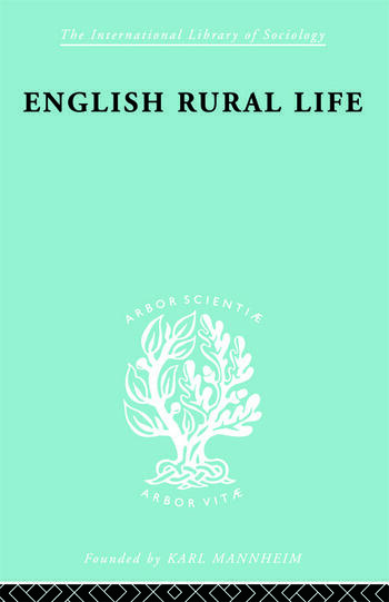 English Rural Life Village Activities, Organizations and Institutions book cover