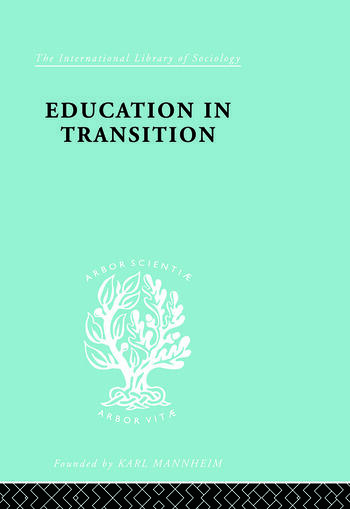 Education in Transition An Interim Report book cover