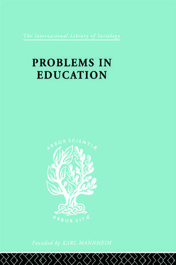 Problems In Education Ils 232 book cover